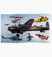 RAF Cosford Airshow 2012 Poster
