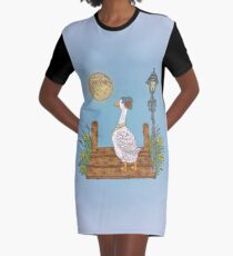 Lonely Graphic T-Shirt Dress