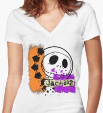 jack-182 Women's Fitted V-Neck T-Shirt