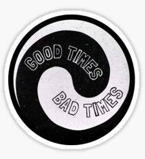 Led Zeppelin - Good Times, Bad Times Sticker