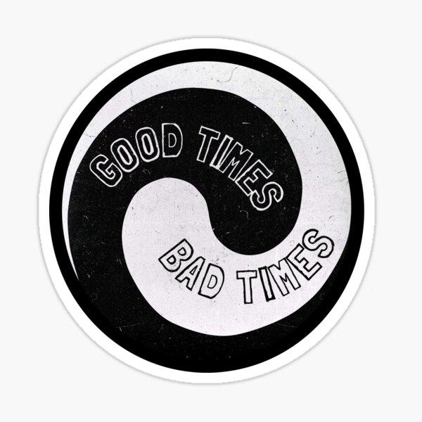 Led Zeppelin - Les bons moments, les mauvais moments Sticker