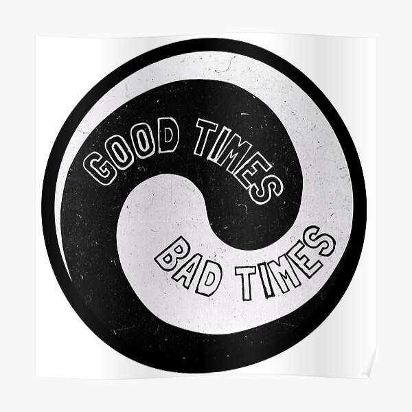 Led Zeppelin - Good Times, Bad Times Poster