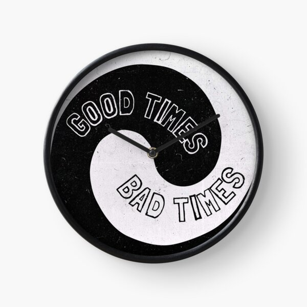 Led Zeppelin - Good Times, Bad Times Clock