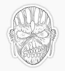Eddie Iron Maiden Sticker