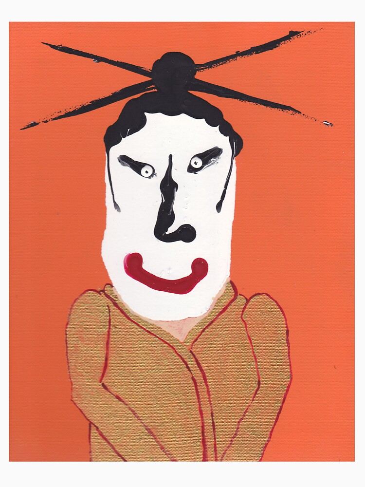 «Kabuki - Martin Boisvert - Face à flaques» par martinb1962