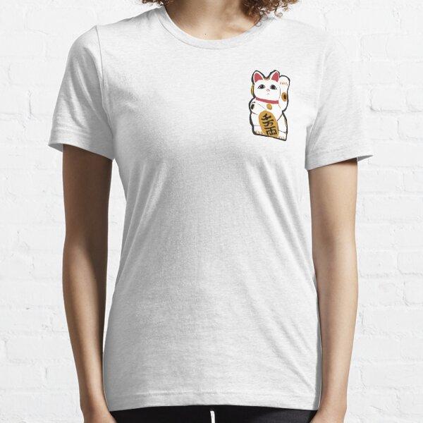 maneki neko waving cat Essential T-Shirt