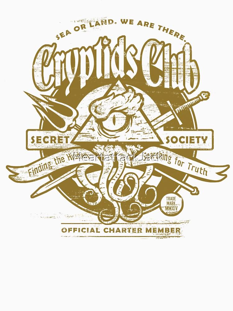 Cryptids Club (Light Shirt Version) von HeartattackJack