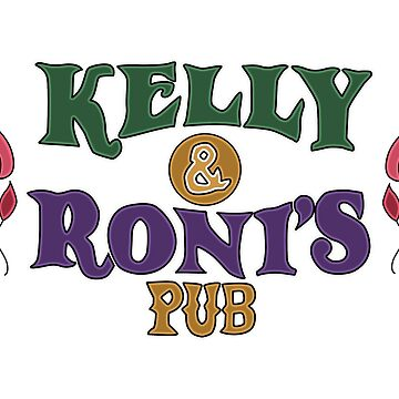 OUAT | Kelly & Roni's Pub Logo by -notsoevilqueen