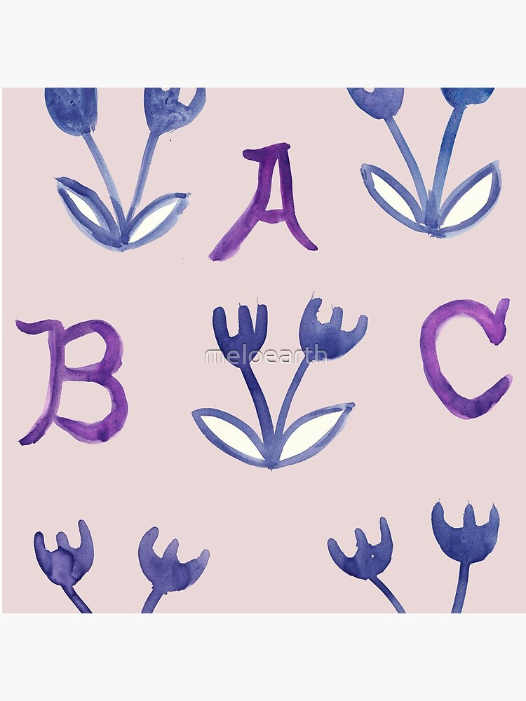 Back To Basics ABCD by meloearth