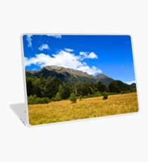 Blue Clear Sky Moutains, HD Photograph Laptop Skin