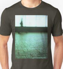 Man walking in city street Hasselblad medium format analog film T-Shirt