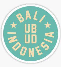 UBUD - BALI - INDONESIA Sticker