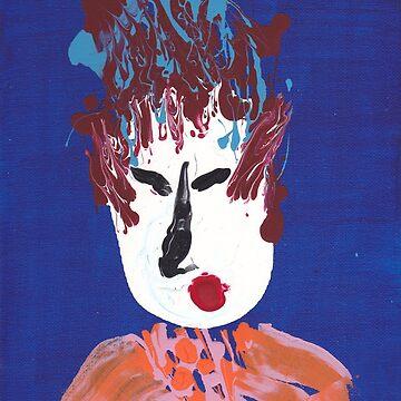 Geisha - Martin Boisvert - Face à flaques by martinb1962