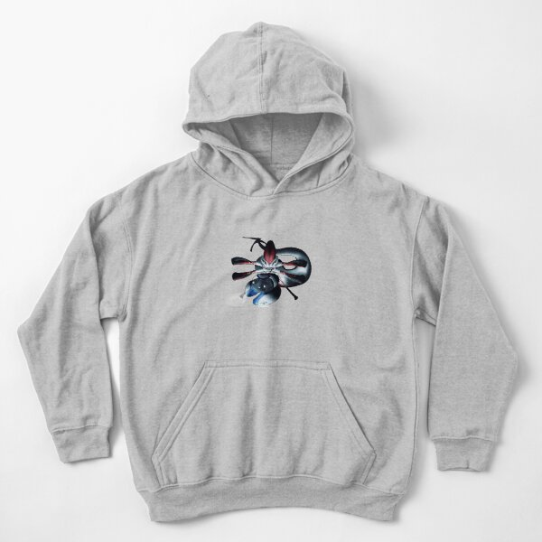 Sammy The Safety Reaper Kids Pullover Hoodie