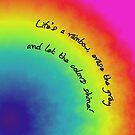rainbow cloud by poupoune