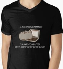 I are Programmer  Men's V-Neck T-Shirt