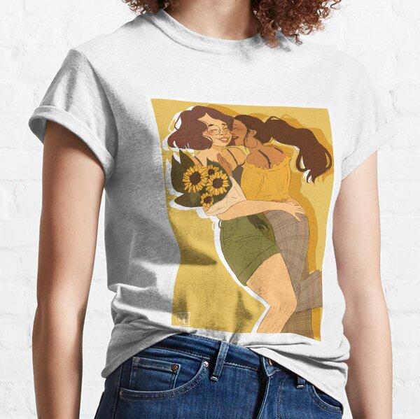 Sonnenblume Küsse Classic T-Shirt