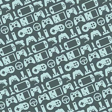 Video Games - Blue Version by WerkShirt