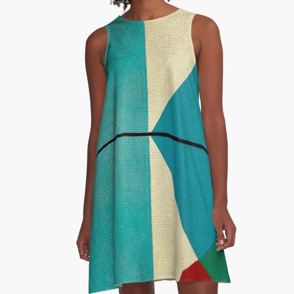 Geometric Thoughts 1  A-Line Dress