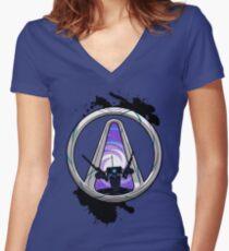 Vault Dominator Women's Fitted V-Neck T-Shirt