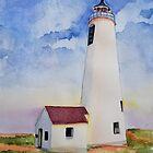 Great Point Light aka Nantucket Light by Nancy Roche