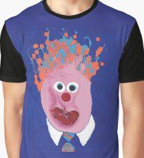 Portrait inspiré de Jean Charest - Martin Boisvert - Faces à flaques T-shirt graphique