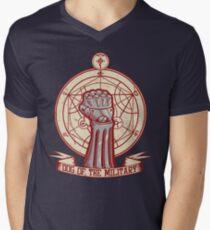Dog of the Military: Full Metal Men's V-Neck T-Shirt