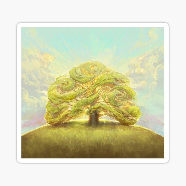 The Oak on the Hill Sticker