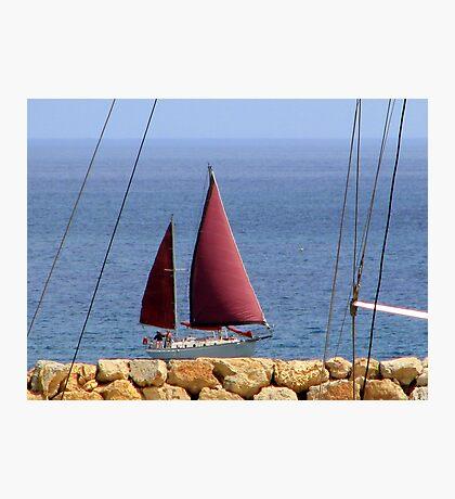 Land Ahoy! Photographic Print