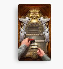 Clockwork Confessional Canvas Print