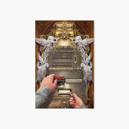 Clockwork Confessional Art Board Print