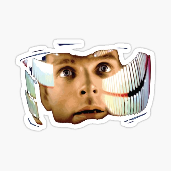 2001 A Space Odyssey - space opera Sticker