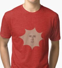 Nicolas Cage Tri-blend T-Shirt
