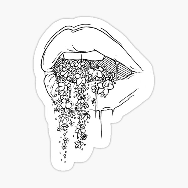 all the pretty things i tried to say to you Sticker