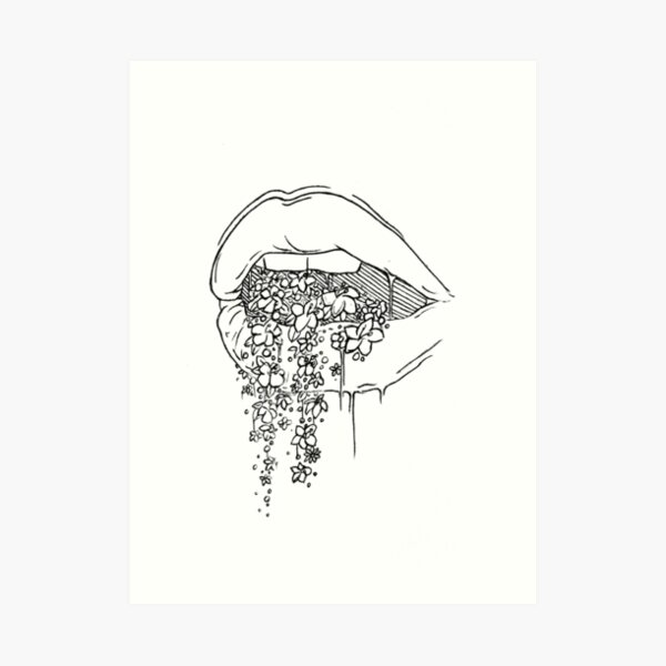 all the pretty things i tried to say to you Art Print