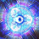A Glimmer in a Future Tye-Dye Vortex [Complex Hex]   Fractal Art by Douglas James by SirDouglasFresh
