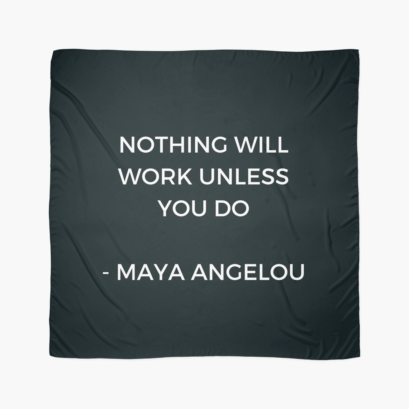 Maya angelou inspirational quote nothing will work unless you do maya angelou inspirational quote nothing will work unless you do kristyandbryce Images