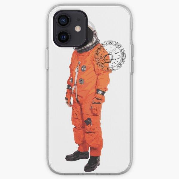 NASA Orange Suit iPhone Soft Case