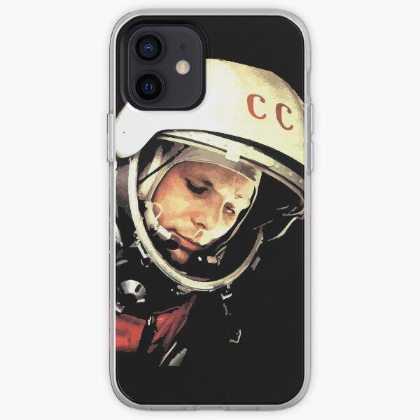 Yuri Gargarin CCCP - Юрий Алексеевич Гагарин iPhone Soft Case