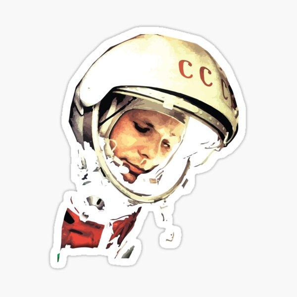 Yuri Gargarin CCCP - Юрий Алексеевич Гагарин Sticker