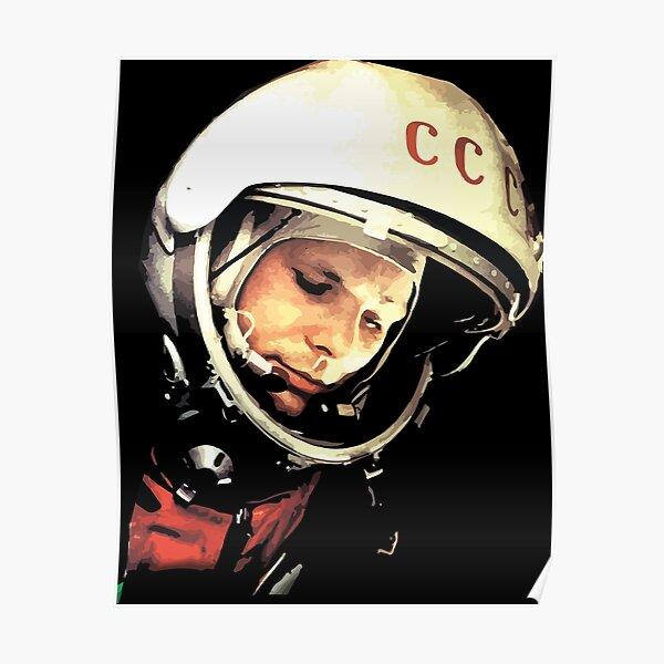 Yuri Gargarin CCCP - Юрий Алексеевич Гагарин Poster