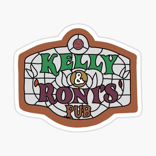 Kelly and Roni's pub  Sticker