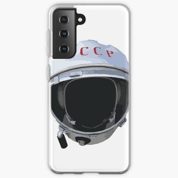 Yuri Gargarin Helmet - 1961 Vostok 1 Samsung Galaxy Soft Case