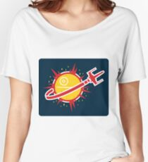 Great Shot, Kid! (STICKER) Women's Relaxed Fit T-Shirt