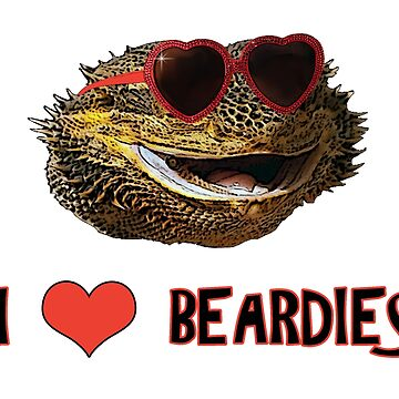I Love Beardies! by DILLIGAF
