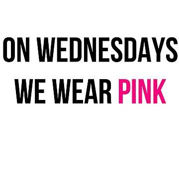 Vestimos rosa los miércoles de MayaTauber