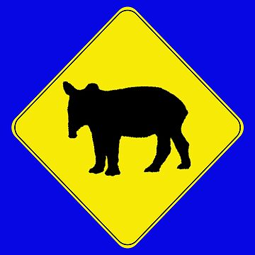 Tapir Crossing by DILLIGAF