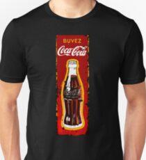 VINTAGE COLA BEVERAGE ADVERTISEMENT SIGN Unisex T-Shirt
