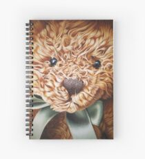 Still life with teddy Spiral Notebook