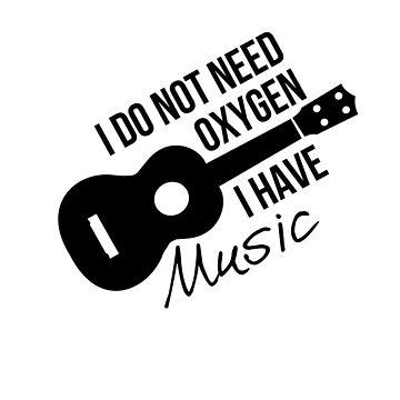 No necesito oxígeno, tengo música de MayaTauber